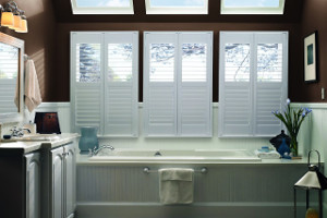Polycore Plantation Shutters in Brazos Valley