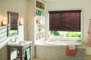 Faux Wood Blinds in Brazos Valley