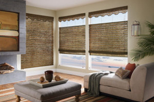Brazos Valley Woven Wood Shades