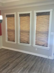 Woven Woods Natural Shades Installation in Bryan, TX